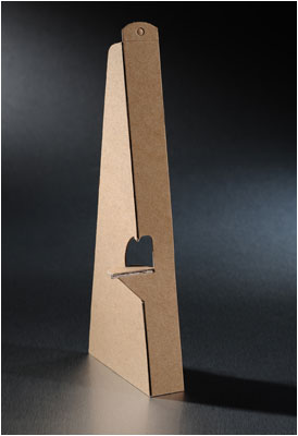 Cardboard Easel - Single Wing - Kraft