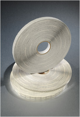 Tissue Supported Transfer Tape Rolls