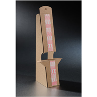 Cardboard Easel – Double Wing – Adhesive
